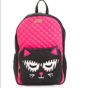 Luv Betsey Kitty Backpack